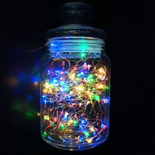 Outdoor Colored Christmas Lights by Aliexpress Com Buy 1m 10m Led String Light Usb Battery Powered