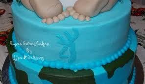 mossy oak camo baby shower cake cakecentral com