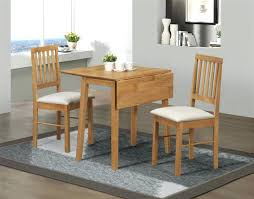 small table and 2 chairs small table for 2 drop leaf dining set table 2 chairs solid wood oak
