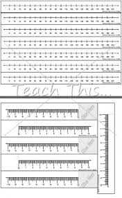 printable numbers lines number lines a3 printable maths teacher resources charts money