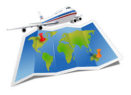 map travel clipart travel map