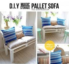 Homemade Sofa Homemade Pallet Sofa Diy Cozy Home