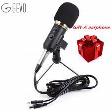 microphone de bureau mk f200fl professionnel microphone à condensateur usb ordinateur de