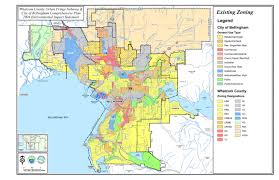 Bellingham Washington Map by Final Environmental Impact Statement