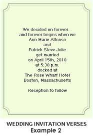 wedding invitation wording for already married destination wedding invitation wording