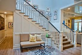 Solid Banister Painting Banister Living Room Traditional With Wood Ceiling Solid