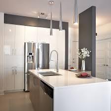 comptoir de cuisine quartz blanc cuisines beauregard cuisine réalisation 300 thermoplastique