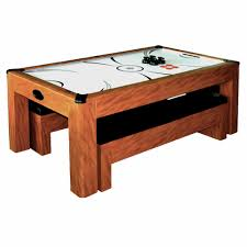 Air Hockey Coffee Table Sherwood 7 Ft Air Hockey Table Set With Benches Pool Warehouse