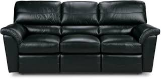 lazy boy black leather reclining sofa centerfieldbar com