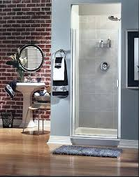 hinged glass shower door shower doors bathroom enclosures shower doors bathroom