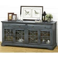 console table tv stand craftsman 70 tv console in antique blue nebraska furniture mart tv