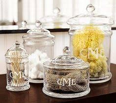 bathroom apothecary jar ideas wiles biscuit glass jar country store counter