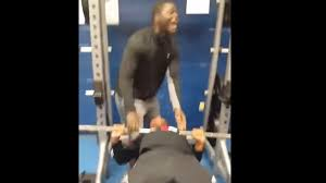 Ndamukong Suh Bench Press Bet His Friend That He Could Bench Press 185 Pounds But Ends Up