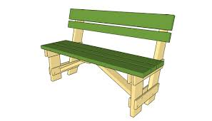 Plans For A Wooden Bench by Garden Work Bench Plans Myoutdoorplans Free Woodworking Plans