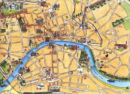 Map Of Florence Italy Classic Tuscany And The Treasures Of Florence
