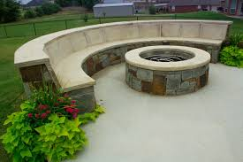 fire pit with seating fireplaces u0026 fire pits half circle seat wall and fire pit