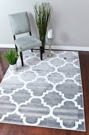amazon com persian rugs 4518 gray 5x7 moroccan trellis 5 u00272 x 7 u00272