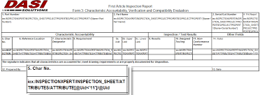 part inspection report template customizing solidworks inspection reports part 3