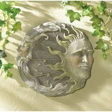 wholesale astral motif sun moon stars garden plaque celestial