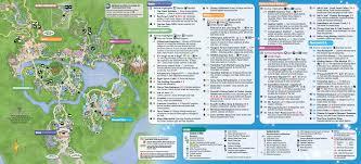 january 2016 walt disney world park maps photo 2 of 12