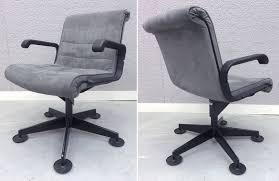 fauteuil de bureau knoll fauteuil de bureau garniture en nubuck reposant sur pietement etoile