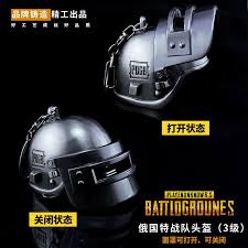 pubg level 3 helmet playerunknown s battlegrounds pubg keychain kar98 pan lvl 3