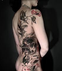 one hundred wonderful skull tattoo styles design trends