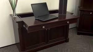 Sauder Laptop Desk Laptop Credenza Palladia By Sauder