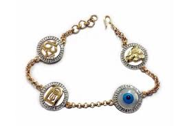 eye gold bracelet images Evil eye aum shiv trishul and lingam and sai ram all in one jpg