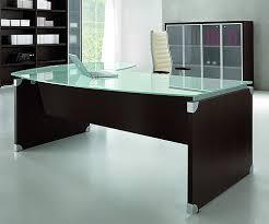 Office Furniture Glass Desk Glass Executive Desk Modern Table Desks Zcdh Me Inside 10