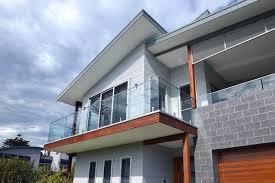 Wollongong Beach House - coastal design grech house nsw beach style exterior