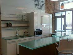 glass countertop kitchen recycled glass countertop icestone denim moss montreal