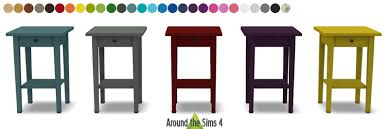 ikea end tables bedroom around the sims 4 custom content download objects ikea bedroom