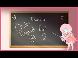 paint tool sai tutorial how to draw a chibi pt 1 youtube