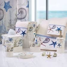 Beach Bathroom Accessories by Products In Bath Accessories Bath On Linen Chest