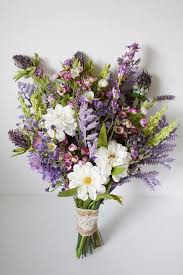 lavender bouquet wildflower bouquet lavender purple bouquet rustic bouquet