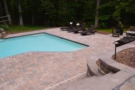 Composite Patio Pavers by Www Sharpercut Com New Pool Surround Using Belgard Hardscapes