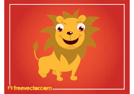 cartoon lion graphics download free vector art stock graphics