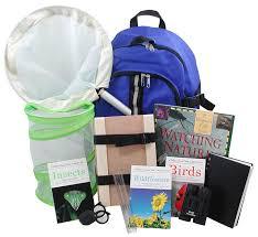 Backyard Nature Products Backyard Naturalist Nature Exploration Backpack Kit