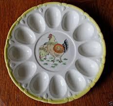 vintage deviled egg platter egg platters collection on ebay