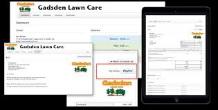 lawn care software for mac pc ipad iphone and android with lawn care business invoices and estimates from lawnprosoftwarecom