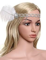 great gatsby headband babeyond women s headpiece great gatsby