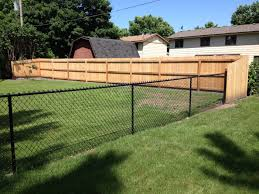 fencing contractor minneapolis wood cedar vinyl aluminum