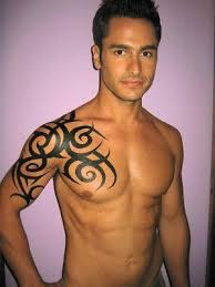 Chest And Shoulder - 366 best images on tribal tattoos tatoos and