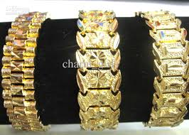 new arrival fashion 24k gp gold plated mens women 2018 3 style choose brand new men 24k yellow gold gep solid fill