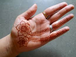 henna decorations how to do henna design for beginners 4 steps