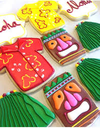 hawaiian luau cookies the hawaiian home