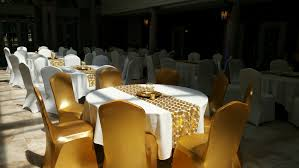 gold chair covers decor ideas events whittier detroit