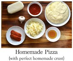 Bread Machine Pizza Dough With All Purpose Flour Homemade Pizza How To Make The Perfect Pizza Crust