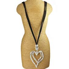long black pendant necklace images Costume necklaces and pendants ebay jpg